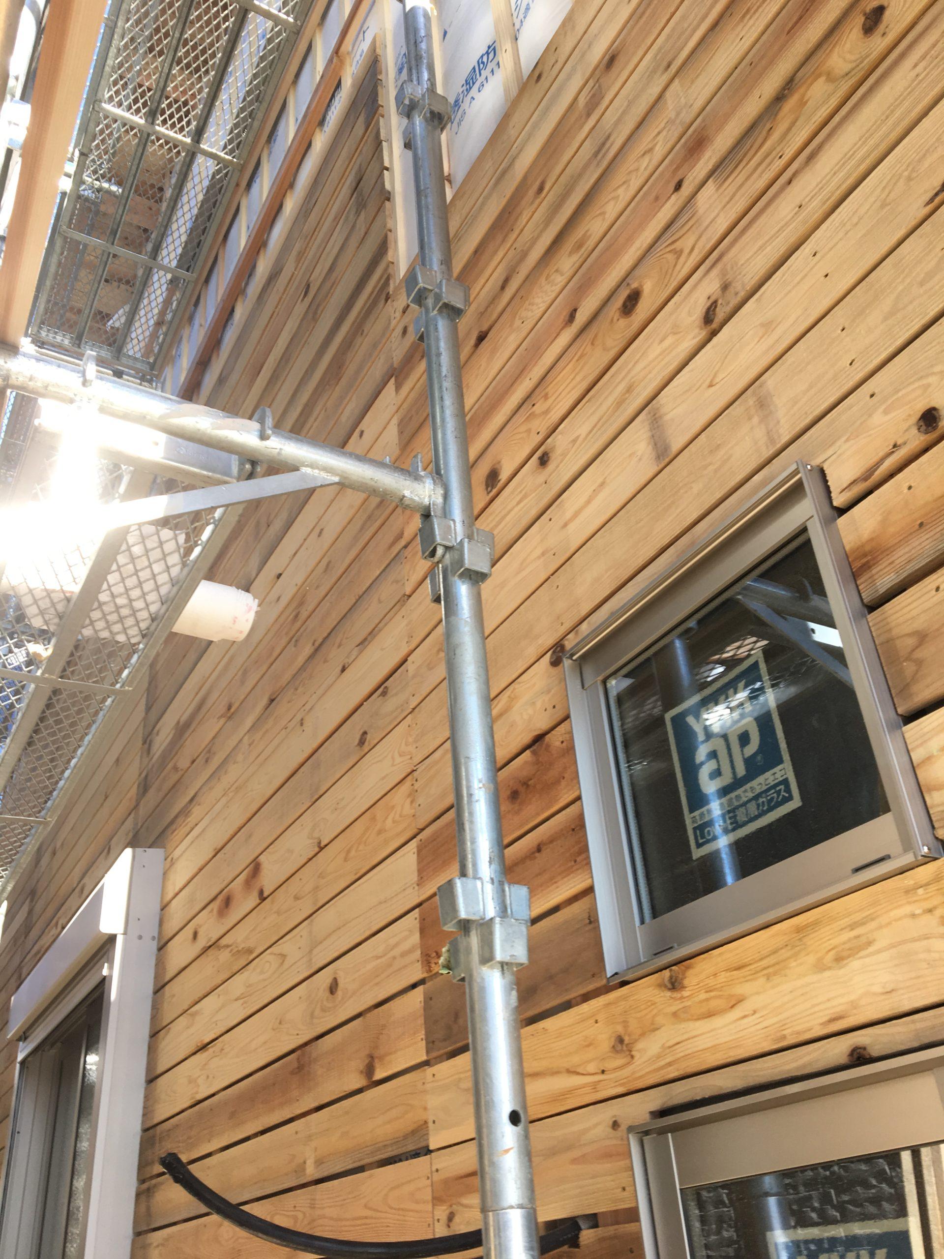 この杉板で耐震性も増しています